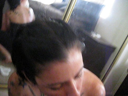 Video booth blowjob