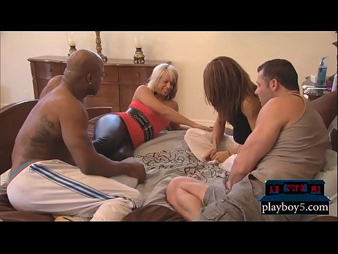 Swinger couple foursome