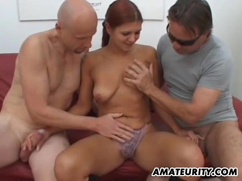 Homemade girlfriend threesome videos