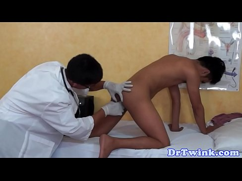 Twink enema fetish
