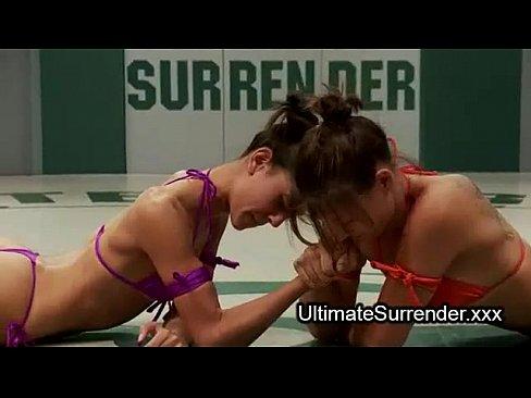 Female wrestling dildo